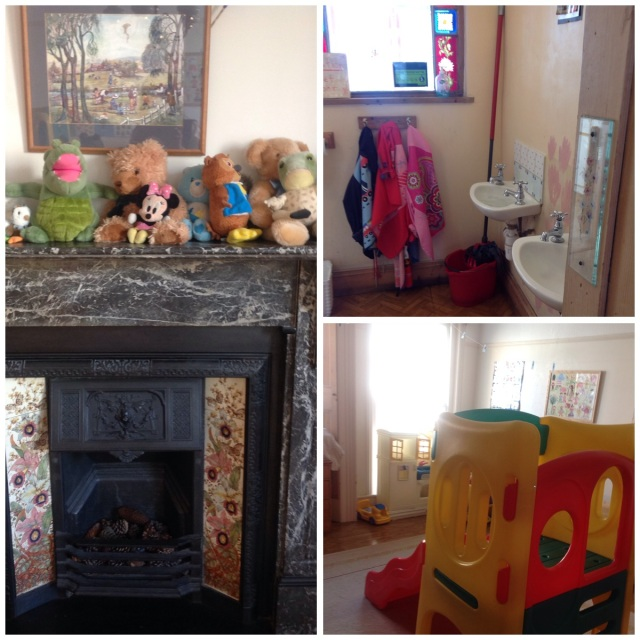 Snapshots of Storytime Nursery with its sweet homely touches